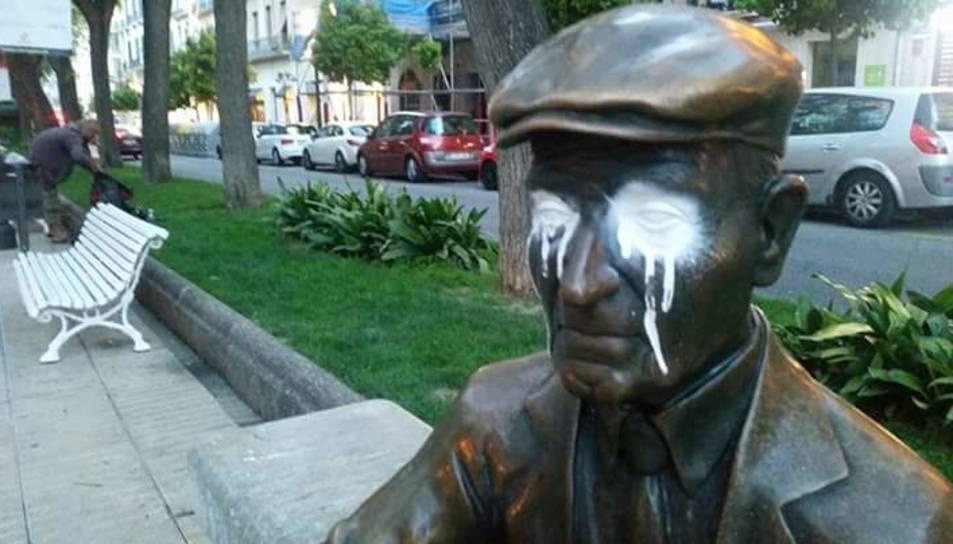 L'avi Virgili, víctima del vandalisme