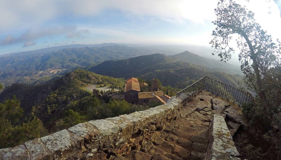 Una nova cursa de muntanya recorrera els paratges de la Baronia d'Escornalbou