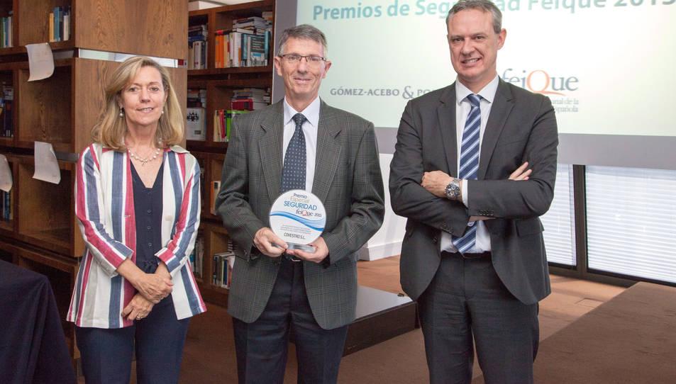 Premi Especial de Seguretat FEIQUE per a Covestro.