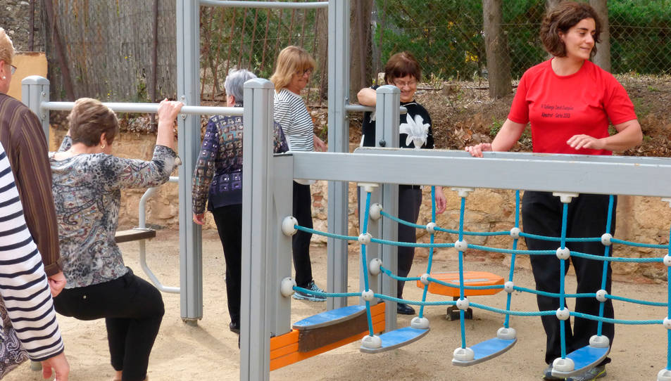 Els gimnasos a l'aire lliure oferiran sessions dirigides