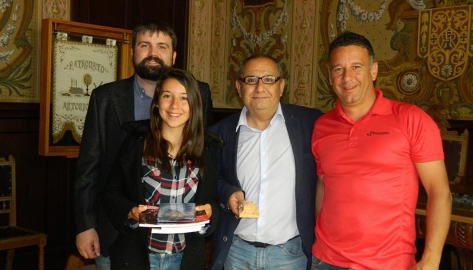 Una alumna de Torredembarra rep la beca Fundació Amancio Ortega