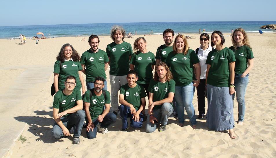 Tret de sortida a la campanya de seguiment de la tortuga marina