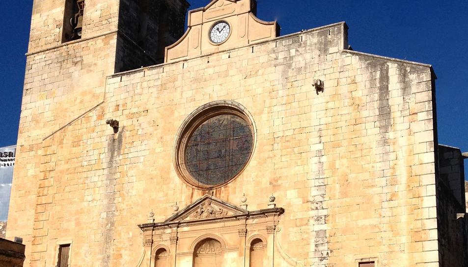El rector de la Parròquia també ha informat que es farà una altra intervenció al temple per al seu embelliment: la restauració de la capella del Santíssim.