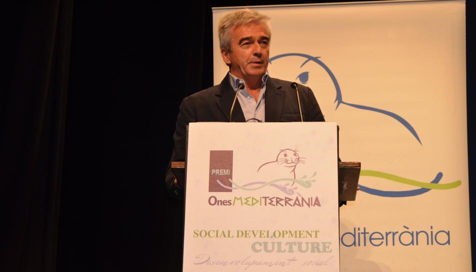 Carles Francino demana pluralisme i independència als mitjans de comunicació als Premis Ones Mediterrània