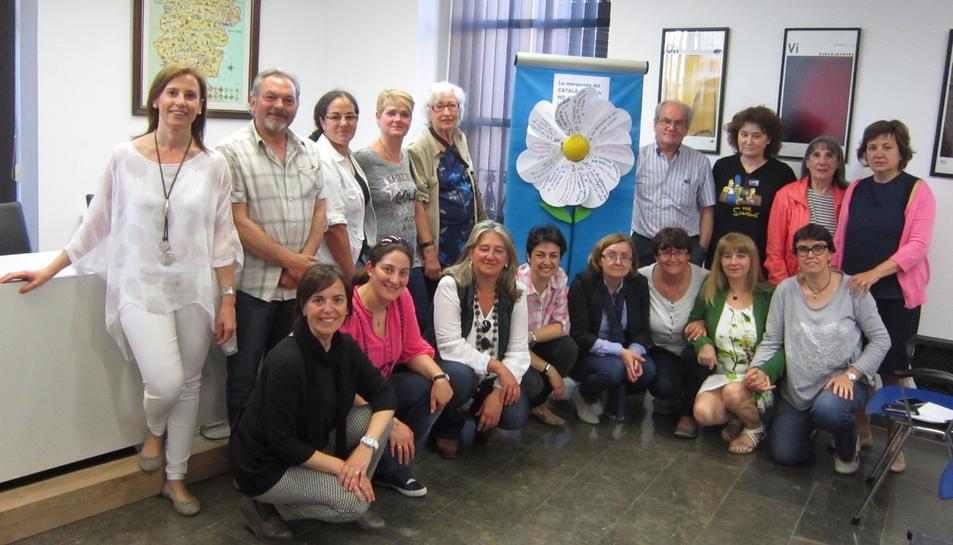 Una quinzena  de persones acaben els cursos de català a Falset