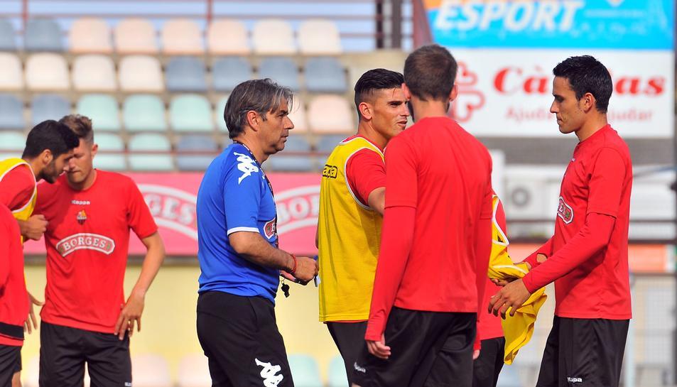 Natxo González: ''Els dos partits que queden són una festa per a l'afició''