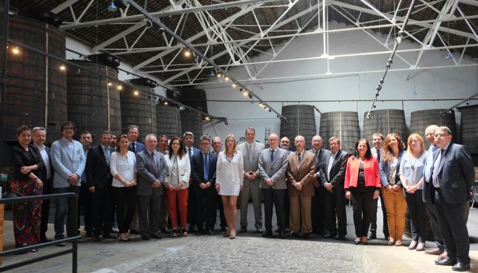 El Cònsol General dels EEUU a Barcelona visita Reus per la inauguració de la Fira del Vi