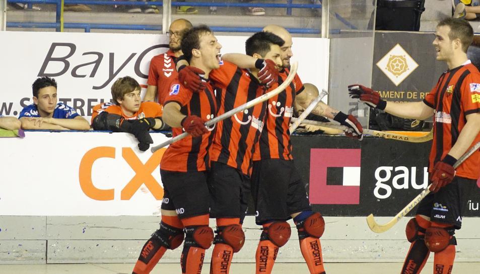 El Reus Deportiu jugarà la Lliga Europea en vèncer el Vendrell 9-4