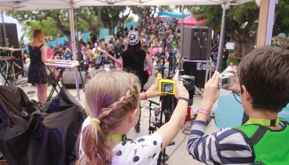 Els minireporters van mostrar la seva visió del festival.