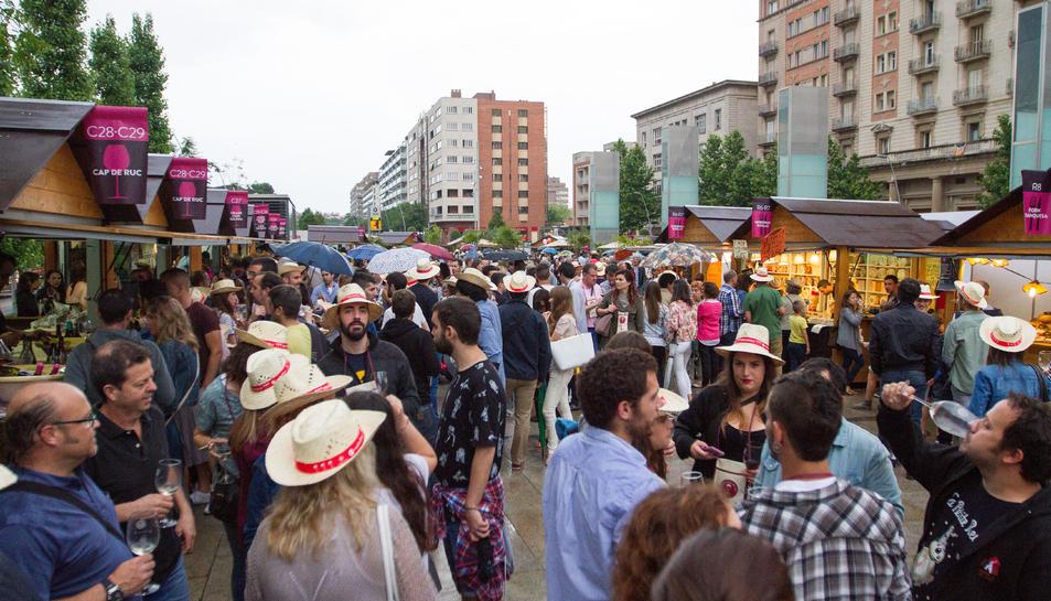 La fira Reus Viu el Vi tanca amb 11.000 packs despatxats