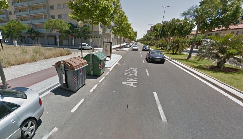 Crema un altre contenidor de matinada a l'avinguda de Salou de Reus