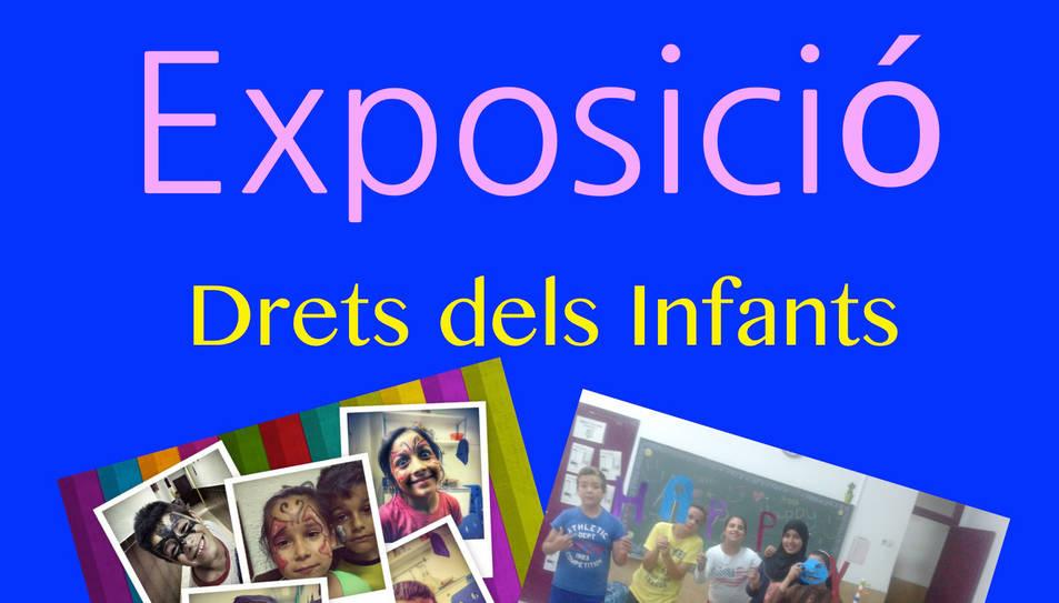 Els infants de Torreforta munten una exposició fotogràfica sobre els drets de la infància