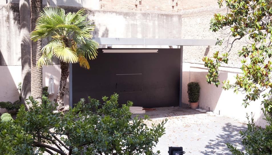 Veïns de l'IMAC denuncien l'excés de soroll del bar que hi ha al jardí
