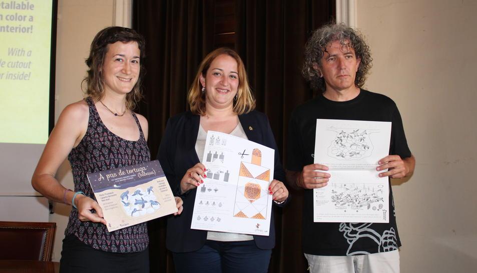 Es presenta un quadern educatiu dedicat a la tortuga babaua