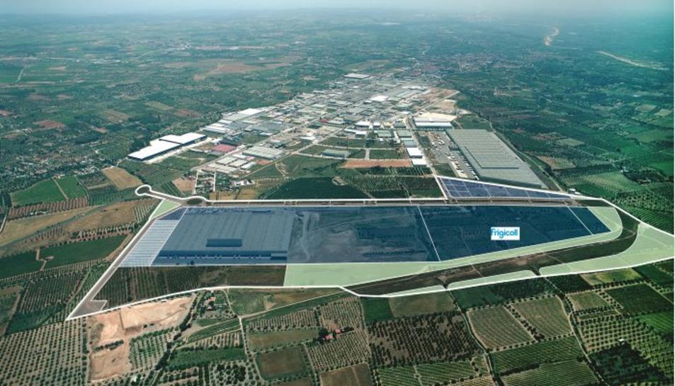Frigicoll traslladarà i ampliarà la seva central logística, ubicant-la al poligon industrial de Valls
