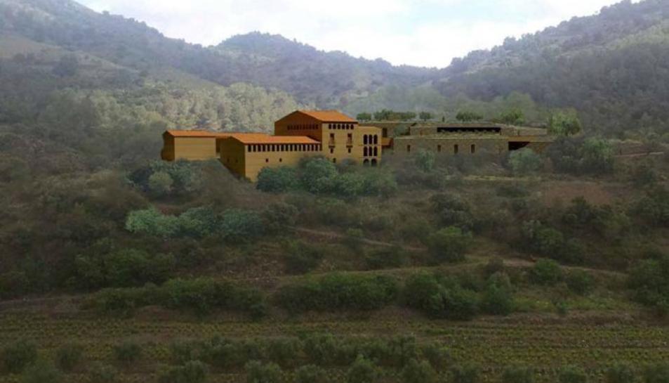 La masia Mas d'en Compte de Porrera es rehabilitarà i albergarà un nou celler de Cal Pla