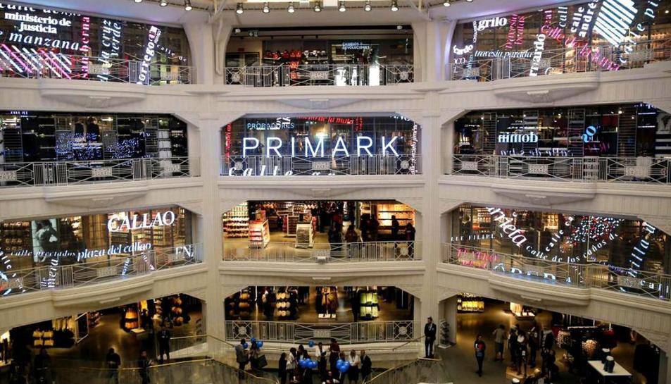 Primark augmenta vendes a Espanya i confirma que obrirà a Tarragona