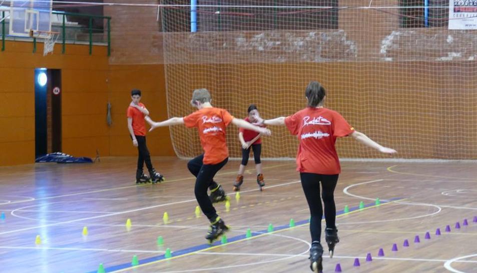 4 clubs catalanes participan en los 2os Campeonatos de Cataluña de Freestyle en el Pabellón del Nàstic