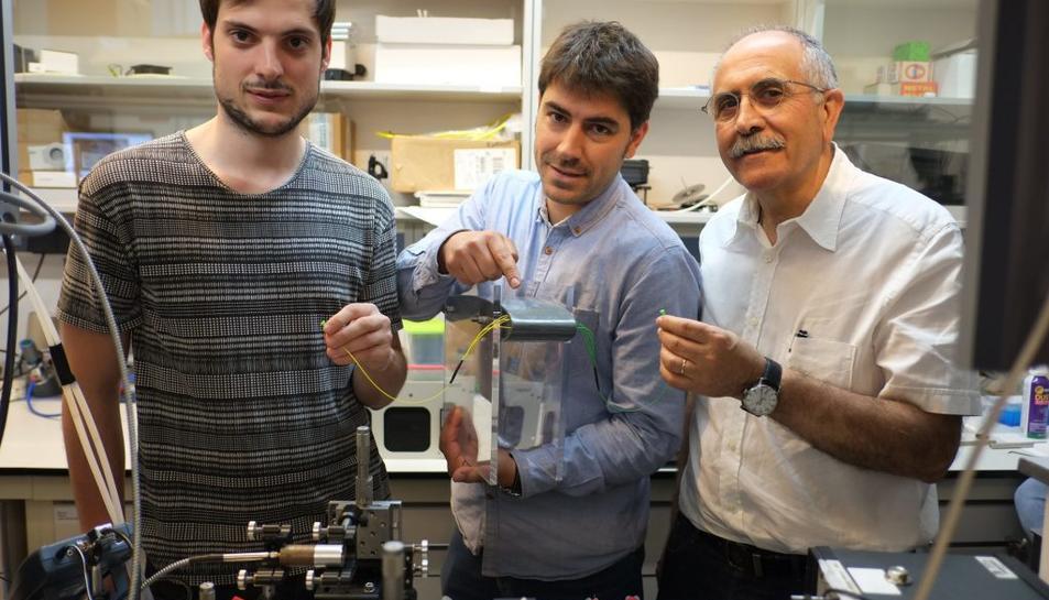 La URV dissenya nous sensors òptics que poden detectar contaminants a l'aigua amb alta precisió