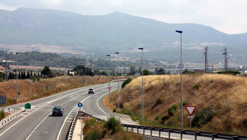Dos detinguts a Montblanc per conduir un cotxe robat a Burgos