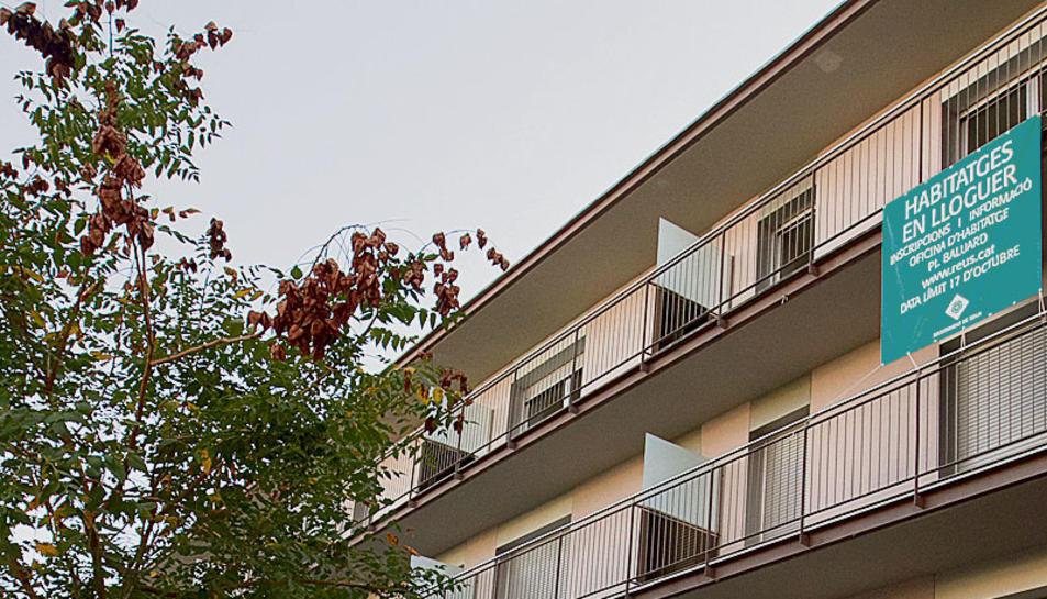 La Patacada lloga en un mes 26 pisos de protecció oficial buits des de 2015