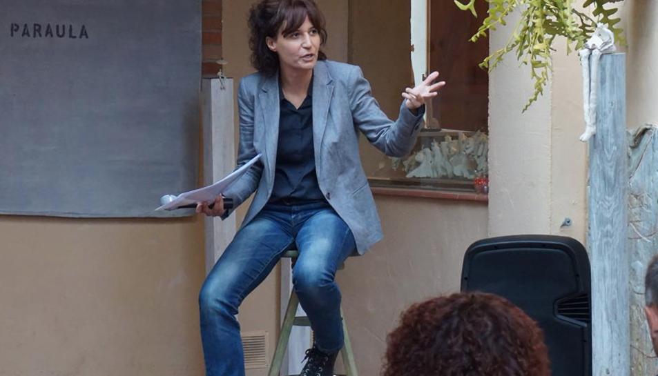 La poesia, l'art, la cuina i la música es fusionen a Santa Oliva