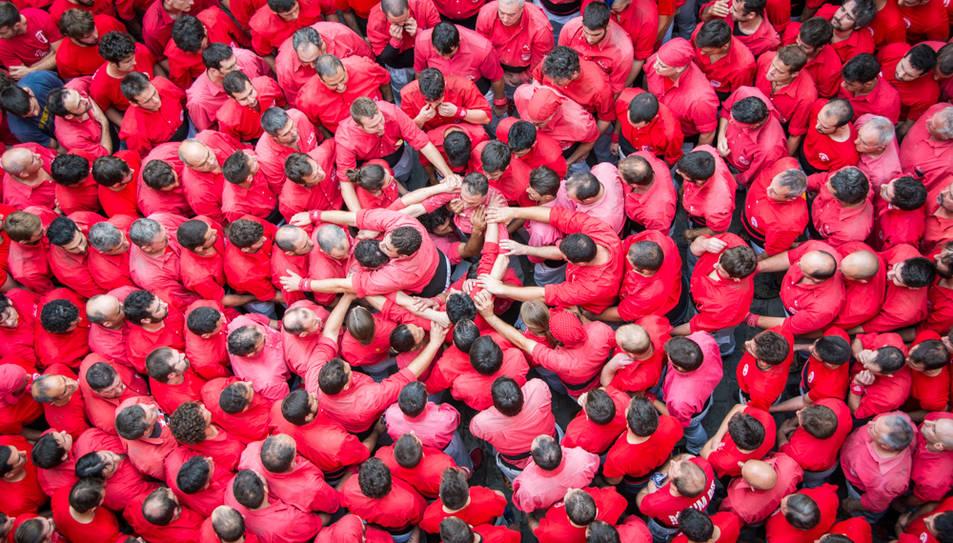 Imatge d'arxiu de la Colla Joves de Valls.