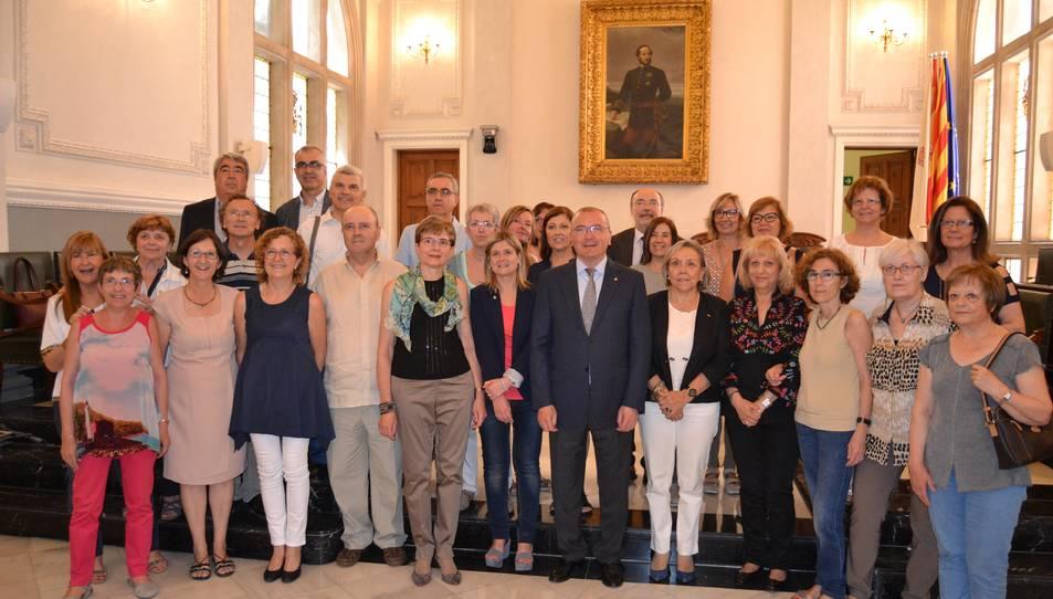 L'Ajuntament de Reus rep els docents que s'han jubilat aquest curs