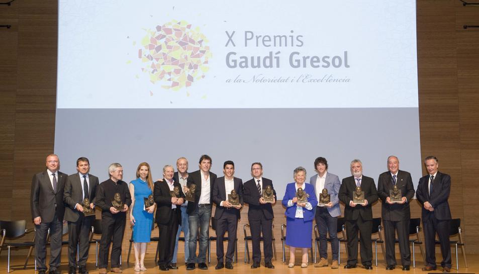 Els premis Gaudí Gresol consoliden la notorietat i l'excel·lència