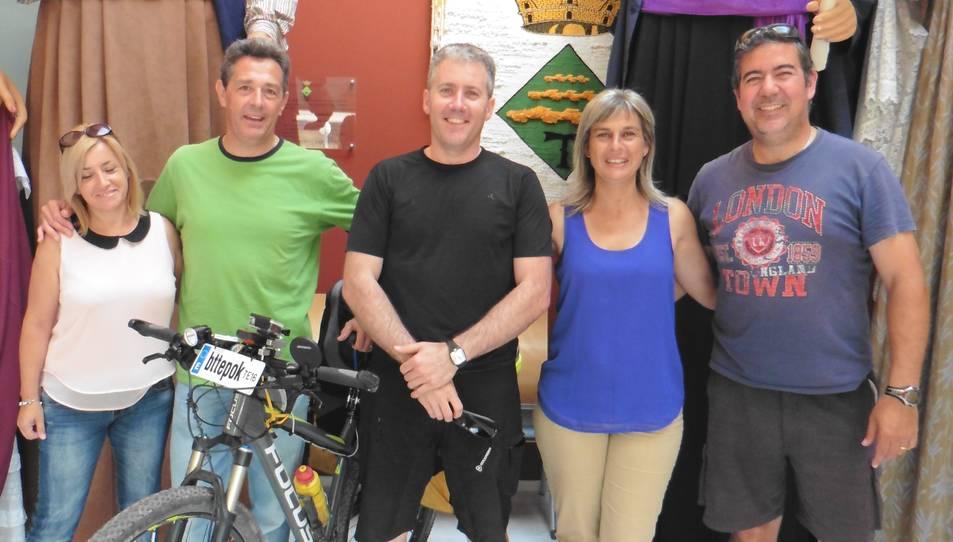 Un veí dels Pallaresos recorrerà Europa en bicicleta per recollir fons per l'Esclerosi Múltiple