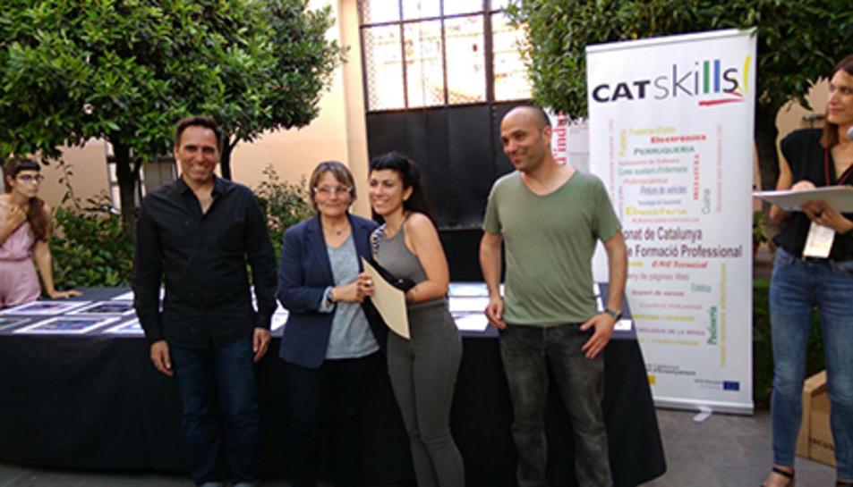 Un alumna de l'Escola d'Art i Disseny de Tarragona guanya la medalla de plata al Catskills d'Il·lustració