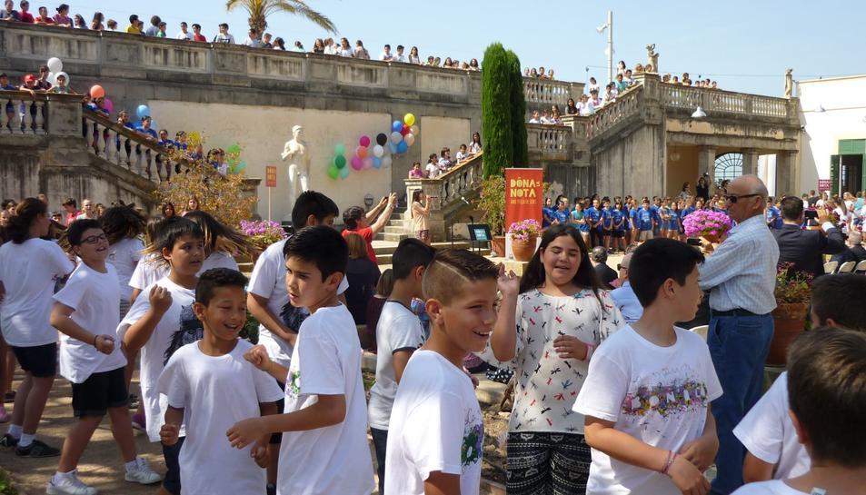 400 alumnes Dónen la Nota al Vendrell