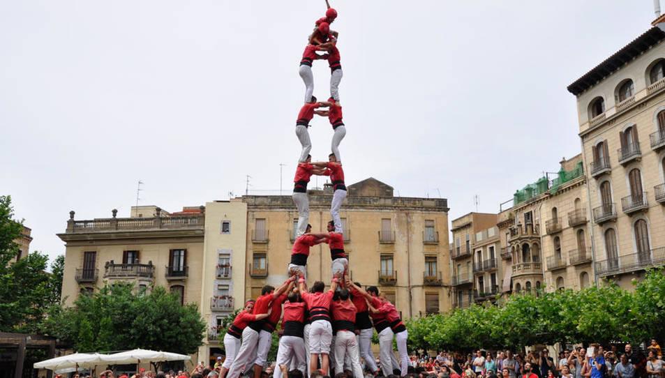 2de8f de la Colla Joves de Valls a la Diada del Pati