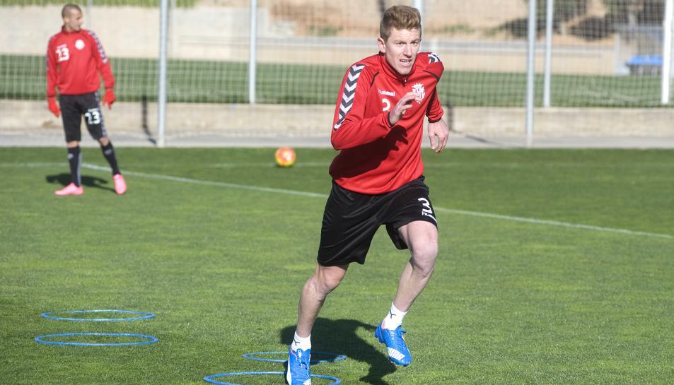 El futbolista ha estat el jugador de camp que ha comptat amb més participacions en les dues campanyes que ha defensat l'escut del Nàstic.