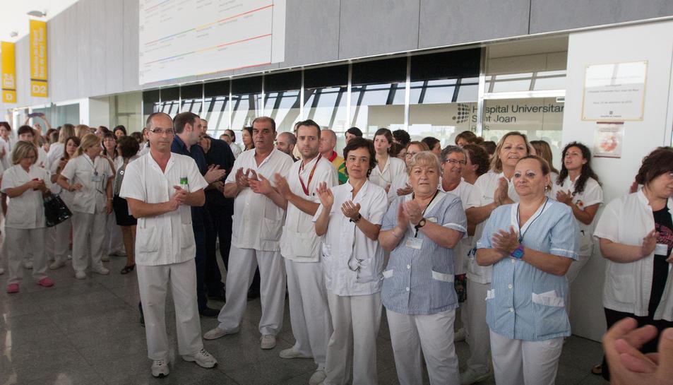 Els treballador veuen amb bons ulls la nova gestió del centre sanitari reusenc.