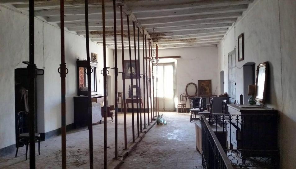 Imatge de l'interior de l'edifici.