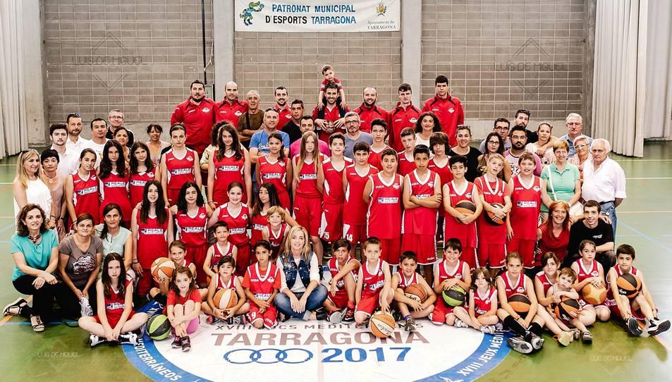Imatge oficial dels equips del Club de Bàsquet Sant Pere i Sant Pau