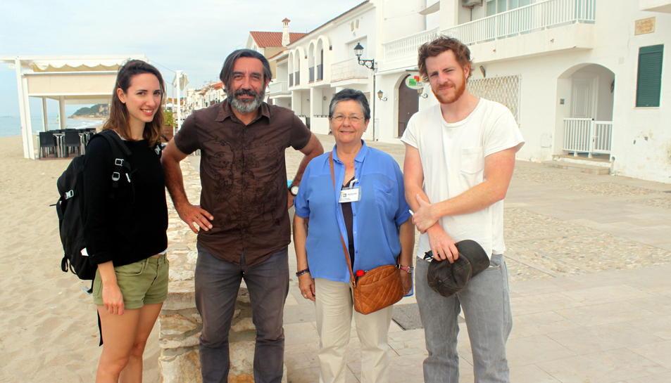 Periodistes francesos visiten els actius naturals, culturals i turístics d'Altafulla