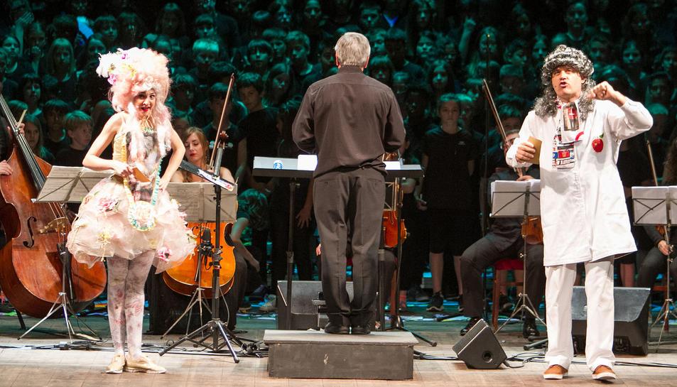 La Cantata del projecte Cantània és impulsada per l'Auditori de Barcelona des de fa 27 anys