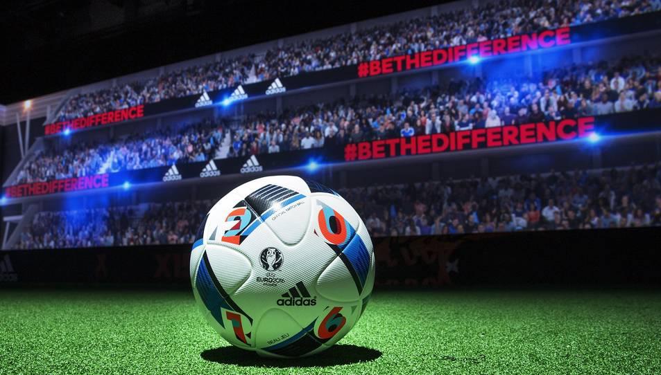 Covestro fabrica la pilota de l'Eurocopa 2016