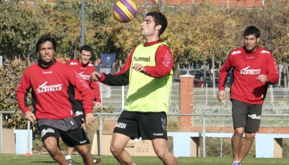 Cristian Hernández, el jove futbolista que ha vist trencat el seu futur professional.