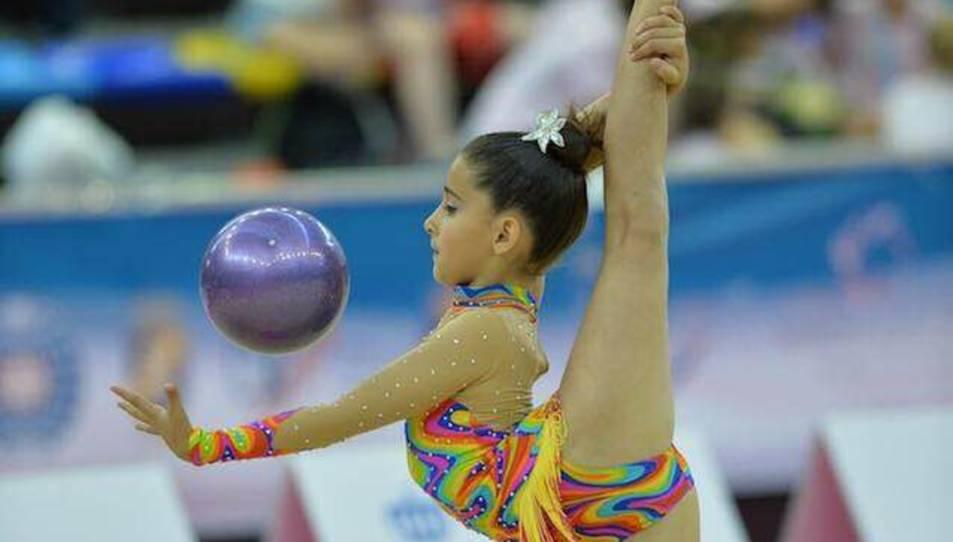 La tarragonina Anna Aibar, classificada pel campionat d'Espanya de gimnàstica rítmica