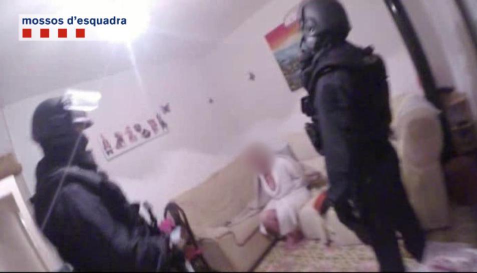 Detingut un grup criminal per cometre un robatori amb violència en un domicili de Tarragona