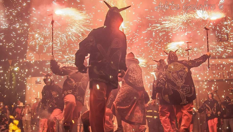 La Festa Major del Vendrell promociona uns diables forasters