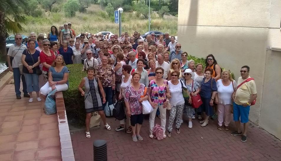 Més de 150 persones majors de 60 anys tanquen el programa d'activitats esportives 'Gent Gran amb el cor jove'