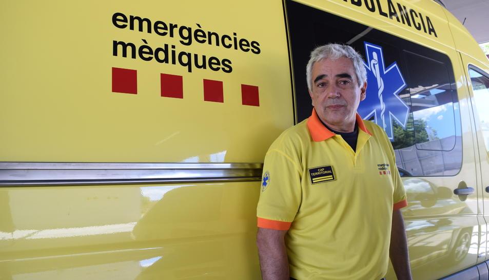 Alfonso López, cap del SEM a Tarragona .
