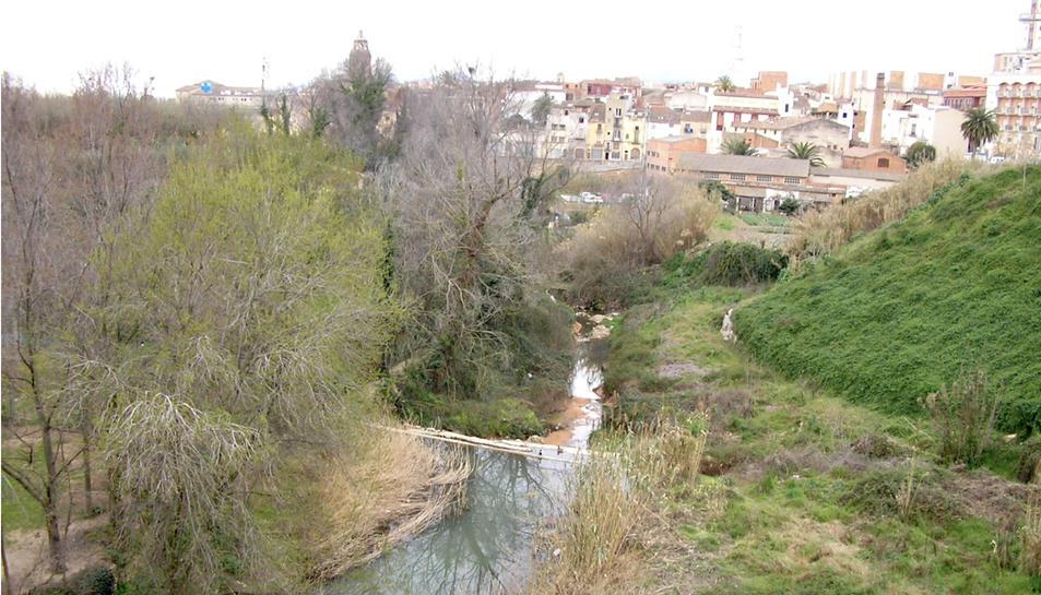 Valls vol convertir els torrents en un parc fluvial