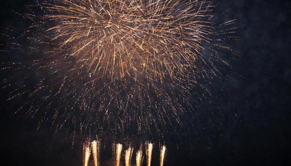 10 tones de pólvora cremaran per Sant Joan a la demarcació de Tarragona