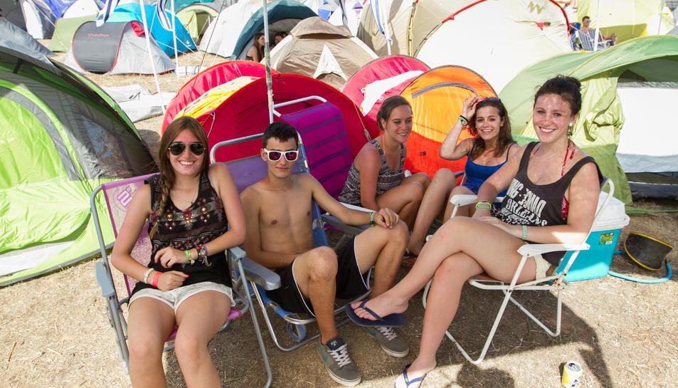 Ja es coneix el cartell definitiu de l'Acampade Jove