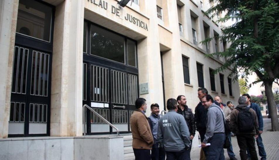 Imatge del Palau de Justícia de Tarragona.
